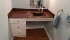 Handicap remodeling - Spina bifida accessible bathroom