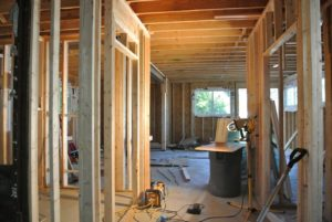 During - Interior remodeling