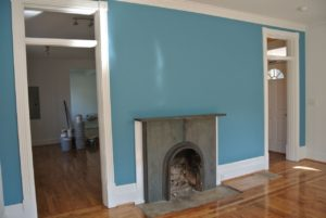 After - Fireplace