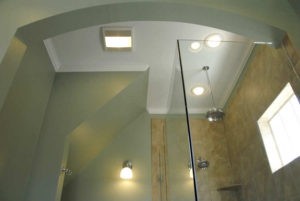 After - Bathroom lights