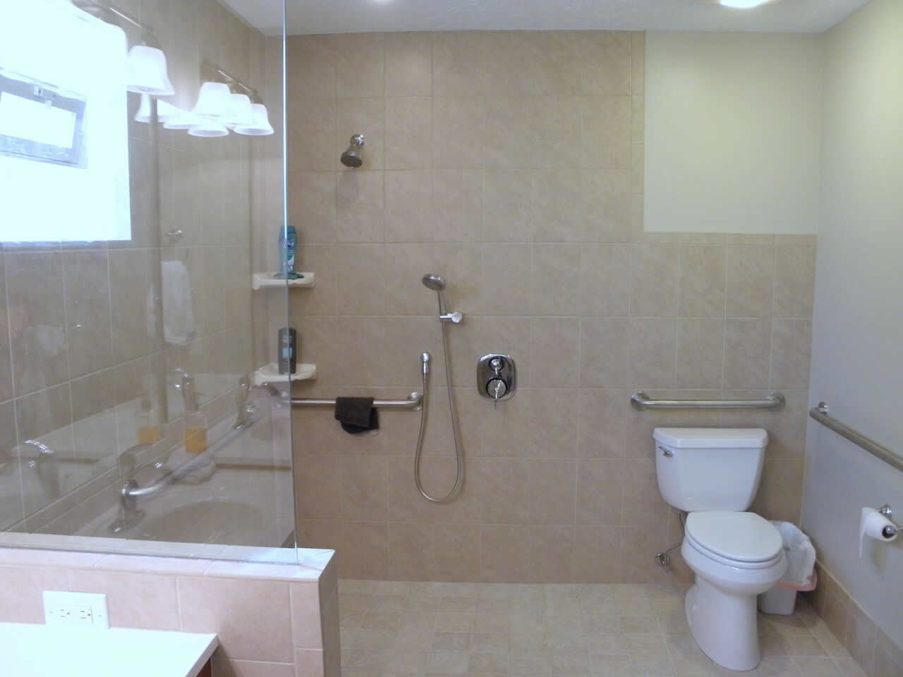 Handicap Showers Make Home Life Easier - Accessible Remodeling