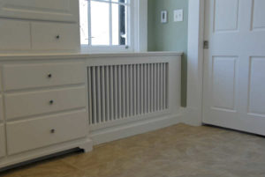 After - Custom radiator cover