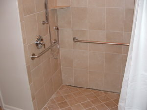 Aging in place remodeling - shower