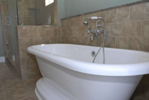After - Soaking tub