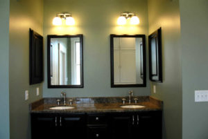 After - Vanity lights