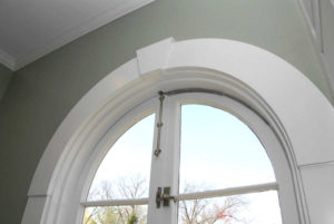 After - Arch windows